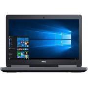 "Laptop Dell Precision 15 7510 (Procesor Intel® Quad-Core™ i7-6820HQ (8M Cache, up to 3.60 GHz), Skylake, 15.6""UHD, 32GB, 1TB SSD, nVidia Quadro M2000M@4GB, Tastatura iluminata, Wireless AC, Win10 Pro)"