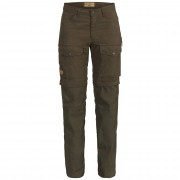 Fjällräven Gaiter Trousers No.1 Damen Gr. 40 - braun oliv-dunkelgrün / dark olive - 3-Jahreszeiten-Trekkinghosen