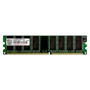 Transcend TS128MLD64V4J Memoria 1GB DDR 184-pin DIMM, Marrone