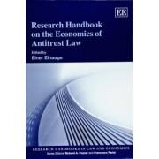 Research Handbook on the Economics of Antitrust Law by Einer R. Elhauge