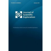 Journal of Scientific Exploration 25 by Society For Scientific Exploration