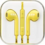 Casti Audio Cu Microfon Galben ABC Tech