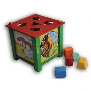 LUKLUCK Educational wooden toy Multi Activity Box