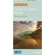 Lochs And Glens North - Sustrans Cycle Route Map: Sustrans Official Cycle Route Map And Information Covering The 217 Miles Of National Cycle Network From Glasgow To Inverness