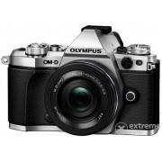 Kit aparat foto Olympus OM-D E-M5 Mark II(obiectiv 14-42EZ), Silver