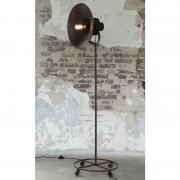 LUMZ Metalen vloerlamp met antiek bronzen afwerking