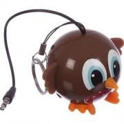 Boxa portabila Trendz Mini Buddy Robin, Maron