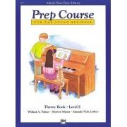 Alfred's Basic Piano Prep Course Theory, Bk E by Willard Palmer