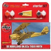 Airfix De Havilland DH.82a Tiger Moth Starter Gift Set (1:72 Scale)