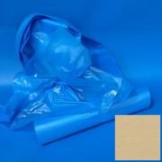 Zsák 1200x1350mm/25my HDPE kék