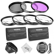Neewer 10083846 67mm Professional Lens Filter and Close-up Macro Accessory Kit for Canon Rebel T5i T4i T3i T3 T2i, EOS 700D 650D 600D 550D 70D 60D 7D 6D DSLR Cameras + 18-135MM EF-S IS STM Zoom Lens- Includes Filter Kit (UV, CPL, FLD) + Macro Close-Up Set