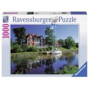 Ravensburger puzzle canalul gota, suedia 1000 piese
