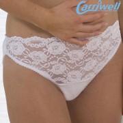 Carriwell - Дантелени еластични бикини за бременни-бели