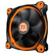 Thermaltake Ring 14 High Static Pressure 140mm Circular LED Case Radiator Cooling Fan CL-F039-PL14OR-A Orange