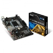 MSI H110M PRO-VD PLUS 6th Generation DDR4 MotherBoard (LGA1151 DDR4 2133Mhz DVI-D + VGA Ports MicroATX Board) 5.0 out