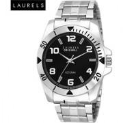 Laurels Large Size Polo Black Dial Men'S Watch - Lo-Polo-502