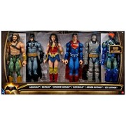 DC Batman v Superman: Dawn of Justice Aquaman, Batman, Wonder Woman, Superman, Armor Batman & Lex Luthor 12 Action Figure 6-Pack by DC