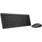 Kit Tastatura + Mouse Wireless Dell KM714 Negru