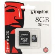 Card De Memorie Kingston Micro SDHC Card 8GB + Adapter
