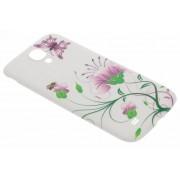 Fleurige batterij cover Samsung Galaxy S4