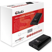 CLUB3D SenseVision USB3.0 to HDMI Graphics Adapter