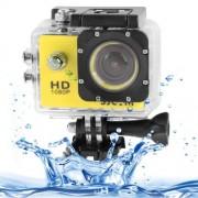 SJCAM SJ4000 Full HD 1080P 1.5 inch LCD Sports Camcorder with Waterproof Case 12.0 Mega CMOS Sensor 30m Waterproof(Yellow)