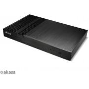 Logement Akasa Galileo Thin-Mini-ITX, OEM - noir