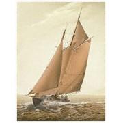 "Eurographics WWI1205 Stampa artistica ""Rough Sea"" di William Wilde 18 x 24 cm"