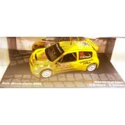 Macheta Renault Clio S1600, Raliu Monte Carlo 2004, 1:43