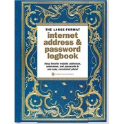 Notatnik Celestial Large-Format Internet Address & Password Logbook