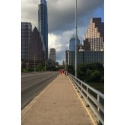 A Bridge Into Austin, Texas: Blank 150 Page Lined Journal for Your Thoughts, Ideas, and Inspiration