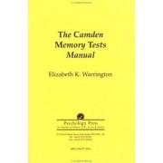 The Camden Memory Tests Manual: Test Manual by Elizabeth K. Warrington