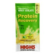 High5 Protein Recovery - Nutrition sportive - banane/vanille 60 g avec protéines vert Compléments alimentaires