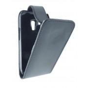 Husa flip neagra pentru telefon Samsung Galaxy S3 Mini i8190 / S3 Mini VE i8200