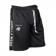 Gorilla Wear Functional Mesh Short (Black/White) - XXL/XXXL