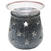 Aromalampa, motiv Stjärnor, 9 cm