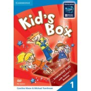 Kid's Box Level 1 Interactive DVD (Pal) with Teacher's Booklet: Level 1 by Caroline Nixon
