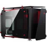 Cooltek MOD1-Mini ITX-Tower Zwart, Rood computerbehuizing