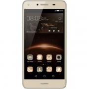 Telefon Mobil Huawei Y5 II / Honor 5 : Dual SIM. 5.0 inch, 4G/ LTE, Android 5.1, Quad-Core 1.3 GHz, 8 GB, 1 GB RAM, 8 MP / 2 MP, 2200 mAh - Gold