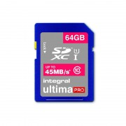 Card Integral UltimaPro SDXC 64GB Class 10 UHS-I U1