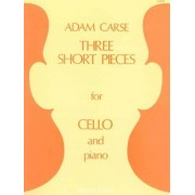 Stainer + Bell Carse: Three Short Pieces for Cello and Piano