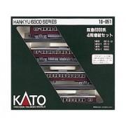 Kato 10-051 Electric Train Hankyu 4 Car Set, Brown, Add-On Set (japan import)