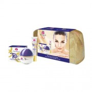 Dermacol Time Coat Intense Perfector Duo Kit 65ml за Жени - 50ml Time Coat Intense Perfector Day Cream SPF20 + 15ml Time Coat Intense Perfector Eye&Lip Cream + чанта Против бръчки