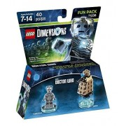 Warner Bros Figurine 'Lego Dimensions' - Cyberman - Doctor Who : Fun Pack Toutes plates-formes