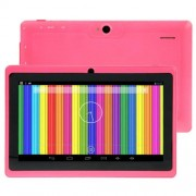 7.0 inch Android 4.4 Tablet PC 8GB CPU: A33 Quad Core 1.5GHz(Pink)