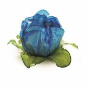 Forminha para Doces Camélia Azul Turquesa - 24 unidades