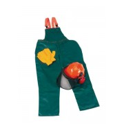 Schnittschutz Sicherheits Starter Set: Hose Gr.58, Helm, Handschuhe