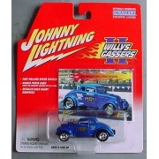 Johnny Lightning Willy Gassers Ii 2 1933 Willys Speedy Bob Nevins Blue By Playing Mantis