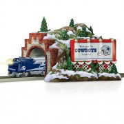 Train Accessory: Nfl Dallas Cowboys Christmas Mountain Tunnel By Hawthorne Village