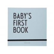 Design Letters - Baby's First Book, türkis